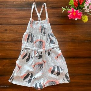 TEA COLLECTION ROMPER WORN ONCE EEUC FISH JUMPSUIT